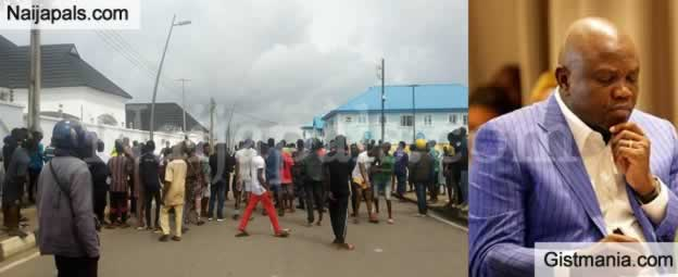 Commotion At Ex Gov, Ambode's Epe Home As It Was Alleged EFCC Operatives Tried To Break In