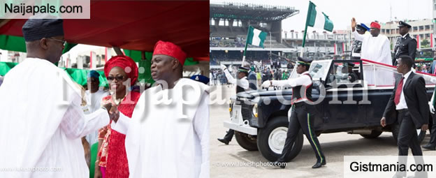 Photos From The Inauguration Of Lagos State Governor, Akinwumi Ambode