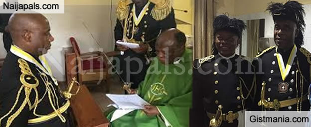 Ex Minister, Chibuike Amaechi Conferred With The Highest Catholic Knights Promotion (Photos)