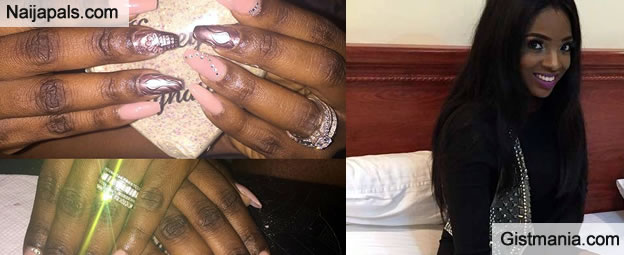 Fans Accuse Annie Idibia Of Bleaching After Flaunting Dark knuckles On Instagram - Photos