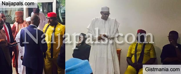 PC Governors And Governor-Elects Meet With Buhari In Abuja