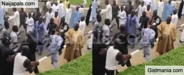 APC and PDP Youths In Zamfara Exchange Blows Inside The Supreme Court Premises