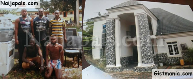 Merciless Armed Robbers Storm Mansion In Imo State, Loot All Properties (Photos)