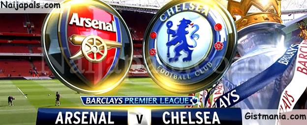 EPL! Arsenal (3) vs (0) Chelsea - FULL TIME!