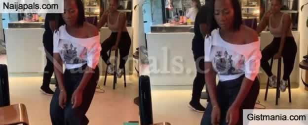 Nigerian Singer, Asa Displays Her Zanku Dance Moves On Camera (Video)
