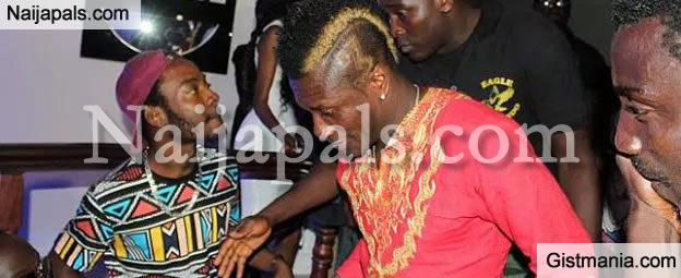 Photos & Video: Asamoah Gyan Throws Massive House Warming Party For His $3M La Basilica De Baby Jet Mansion