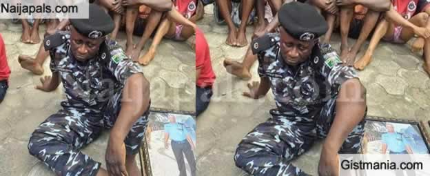 Photo: ASP Of Police Part Of Kidnappers Arrested At The Southern Part Of Nigeria