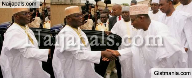 PHOTOS: Atiku Represents Buhari At National Mosque As Inauguration Activities Commence