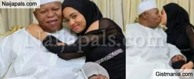 Checkout Abubakar Audu's Young Pretty Wife, Who Could Have Been The 1st Lady Of Kogi State