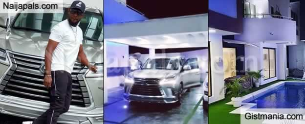 Celebrities React As Comedian, AY Makun Flaunts Mansions And Cars