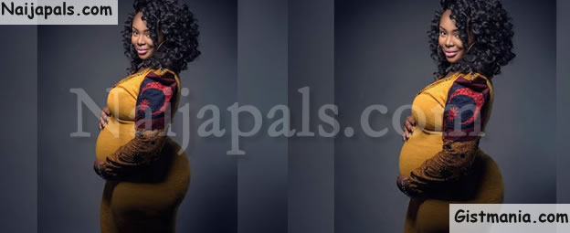 Photo Of Pregnant Nigerian Lady With Huge Backside Causes Fuss On Instagram