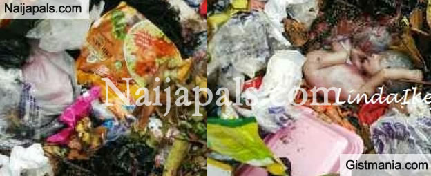 New born baby Found in Refuse Dump in Anambra state