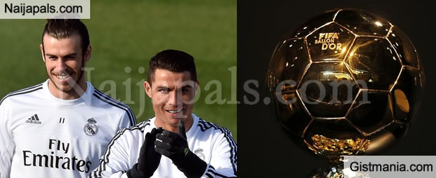 Cristiano Ronaldo & Gareth Bale Top On The List For The 30-man Ballon D'Or Shortlist - See Full List