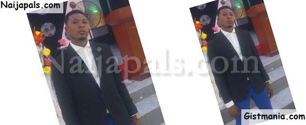 SAD! Flood Sweeps Away Bank Security Guard, Moses Obaje Yenusa In Akwa Ibom (Photo)