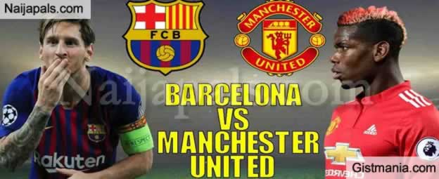 Barcelona (3) Vs (0) Manchester United : Champions League Quarter Final Match, Goal Scorers and Stats