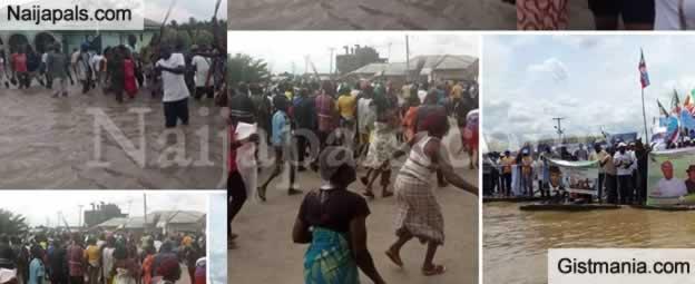 Photos: Wild Jubilation As Bayelsans Took To Street To Celebrates APC's Victory