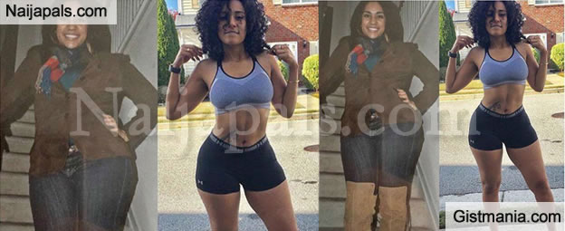 AMAZING! The Before And After Pictures Of This Pretty Lady Will Definitely WOW You
