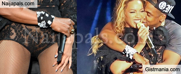 SMH:The Disgraceful Outfit Beyonce Wore At A Recent Performance (Shows Her Thing)