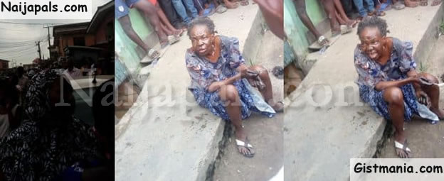 Bird Allegedly Turns Into An Old Woman At Oworonshoki, Lagos (Photos)
