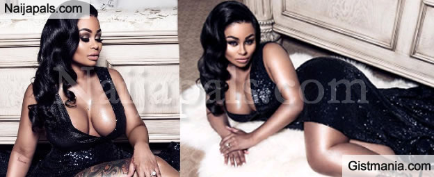 Blac Chyna Looking All Refined And Trimmed As She Flaunts Cleavage In New Photoshoot
