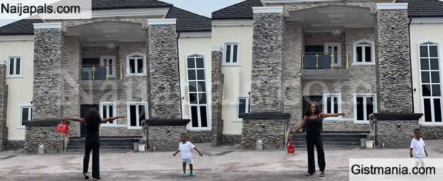 Lady Shows Off Mansion She Built After She Was Chased Out From Husband's One Room Apartment 8yrs Ago