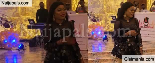 See Bobrisky's Glamorous Outfit To Tonto Dikeh's Birthday Party In Abuja