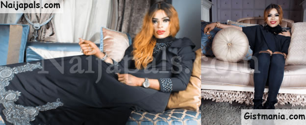 """I'm Classy And Intelligent, Have 2 Policemen Guarding My House""- Bobrisky Brags"