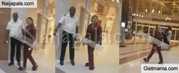 Video: Bobrisky Cautions A Man Harassing Him At Hilton Hotel In Abuja