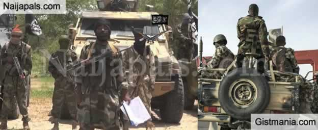 Nigerian Troops Lose N15 Million & A Cache Of Weapons To Boko Haram In Ambush