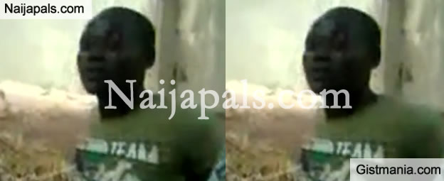 Disturbing video shows how Boko Haram men beheaded Nigerian Air Force officer