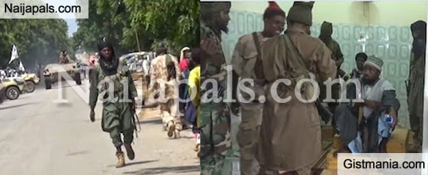 VIDEO: Defence HQ Releases New Video Showing Boko Haram Members Flee Sambisa Forest