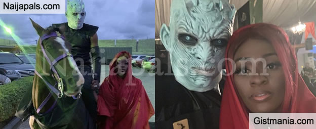 Comedian Bovi & Wife Steal The Show @ IK Osakioduwa 's Games of Thrones Themed 40th Birthday - Photos
