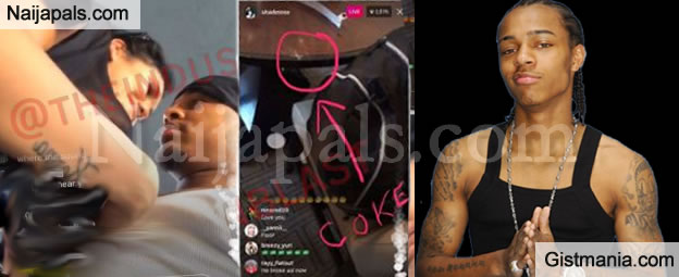 Rapper Bow Wow Shares His Fun Video With Nak£d Girls & Cocaine In Sight In A Las Vegas Hotel