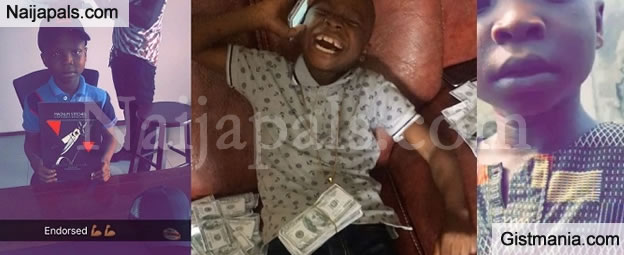 9yrs Old Boy Who Wants To Be a Yahoo Boy Allegedly Gets Endorsement Deal