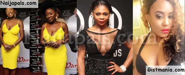 #NOBRADAY! Check Out 26 Bra-less Photos Of Your Favorite Nigerian Celebrities (Photos)