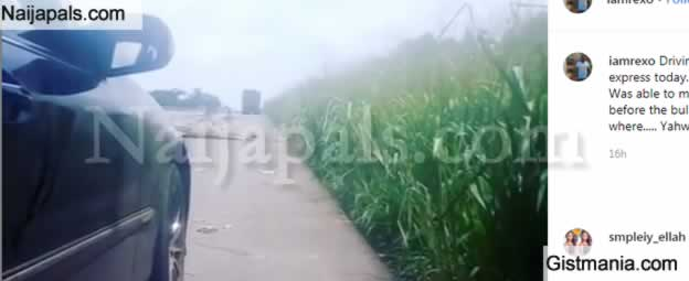 Video: Brave Man Filmed Armed Robbery Attack On Benin-Ore Expressway