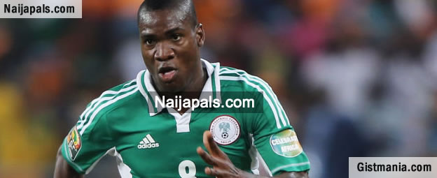 Picture : Super eagles star, Brown ideye robbed in ukraine