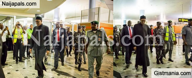 Nigerians React On Twitter On President Buhari Planed 2 Weeks Vacation To United Kingdom