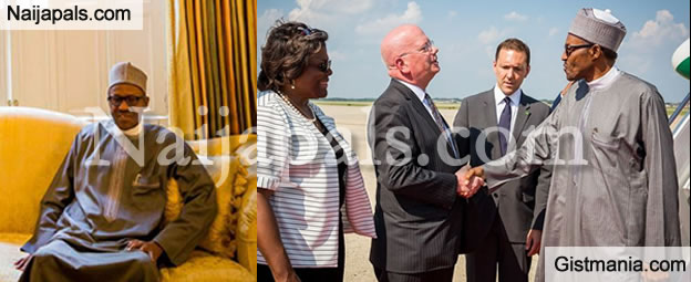 President Buhari Ignores Nnamdi Kanu's Threat, Departs For Japan (Photos)