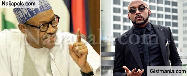 #NigerianYouthsAreLazy : This Is What Mr. Capable, Banky W Has To Say To President Buhari's Speech