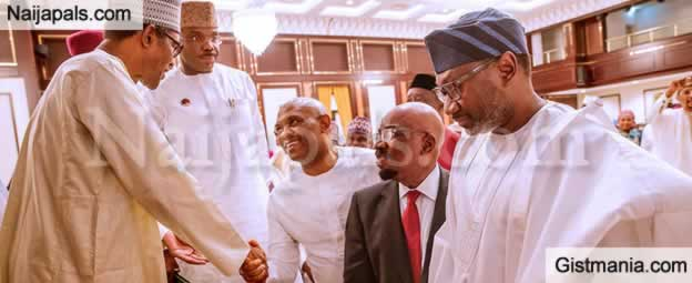 President Buhari Hosts Business Community And APC NWC To Break Of Ramadan Fast At The State House