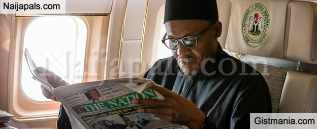 Buhari Jets Out To Britain On A 10 Day 'Private Visit'