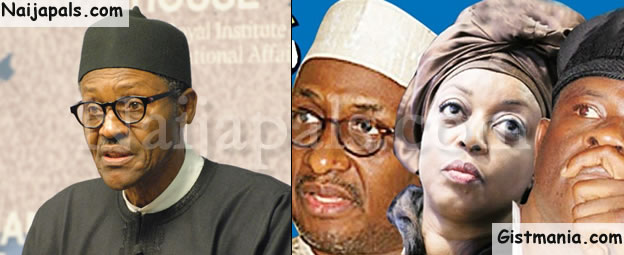Buhari Set To Extradite Diezani, Obanikoro, Mu'azu, Others (See Details)