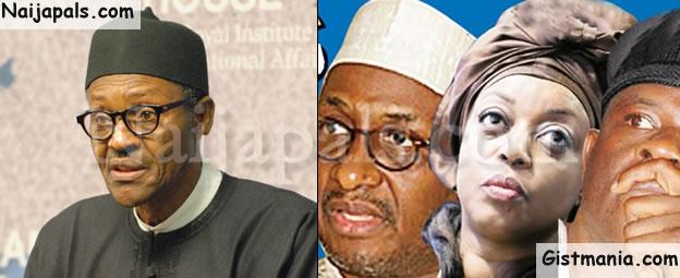 Buhari Set To Extradite Diezani, Obanikoro, Mu'azu, Others (See Details)