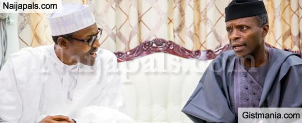 Buhari Finally Reveals Reasons Osinbajo's 35 Aides Were Sacked