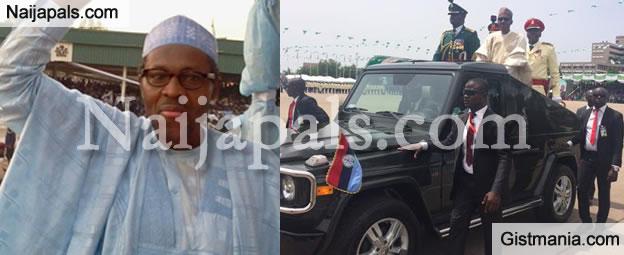 """I BELONG TO NOBODY!""  FULL Text Of President Muhammadu Buhari Inauguration Speech"