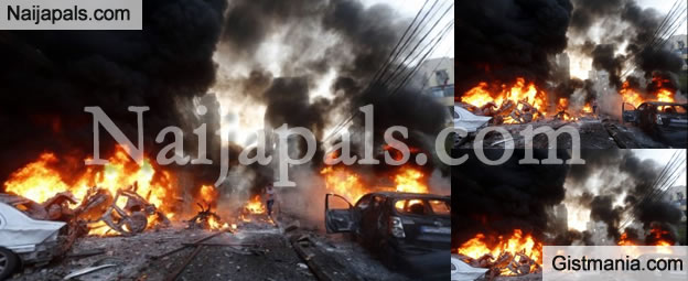 BREAKING! 2 female Suicide Bombers Kill Scores Of People At Maiduguri Market