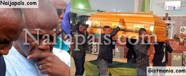 PHOTOS: Doleful Wails As Slain Redeemed Pastor, Eunice Elisha's Body Was Committed To Mother Earth