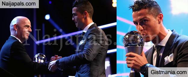 Cristiano Ronaldo Beat Messi, Neymar To win 2017 FIFA Best Player Of The Year