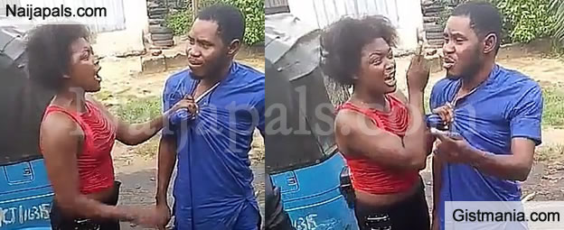 DRAMA! Well Dressed Man Publicly Disgraced By Prostitute For Refusing To Pay After Service (Photos)